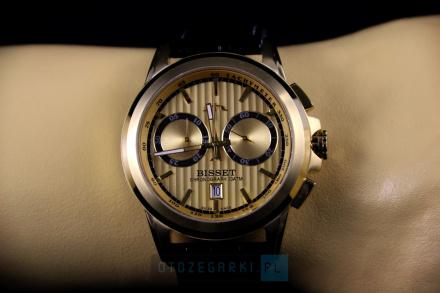 Bisset BSCX14GIGX10AX Zegarek Szwajcarski Marki Bisset