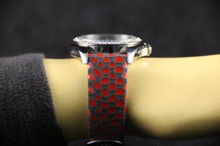 Bisset BSAD50SIVX05BX Damski Zegarek Szwajcarski Marki Bisset