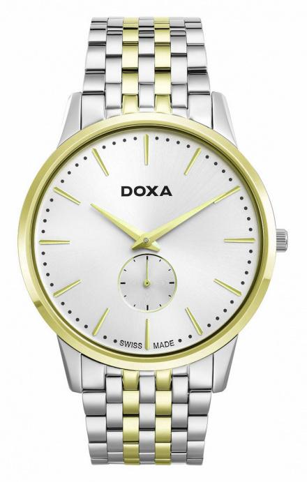 Zegarek Szwajcarski Doxa Slim Line Gent D155TWH