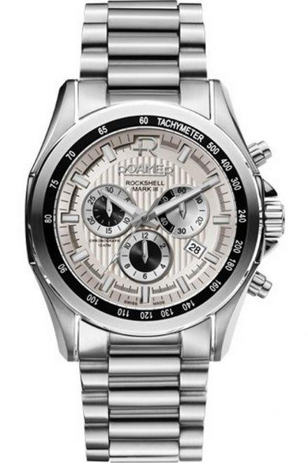 Roamer 220837 41 15 20 Zegarek Szwajcarski Chrono Rockshell Mark Ii