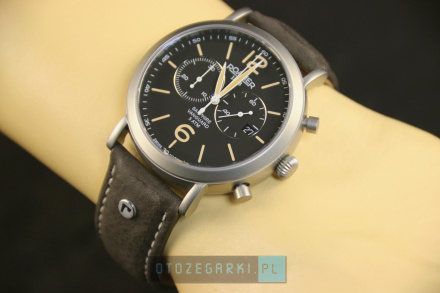 Roamer 935951 40 54 09 Zegarek Szwajcarski Chrono Vanguard