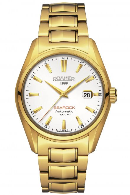 Roamer 210633 48 25 20 Zegarek Szwajcarski Mechanical Searock