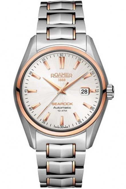 Roamer 210633 49 25 20 Zegarek Szwajcarski Mechanical Searock