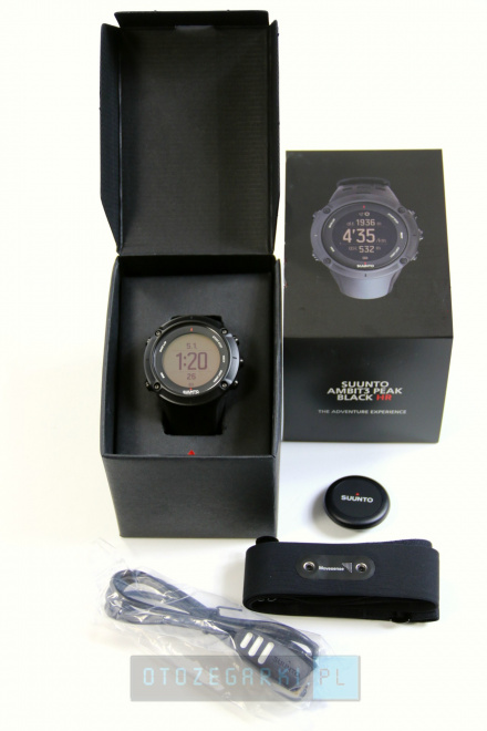Suunto SS020674000 Ambit3 Peak Black (HR)