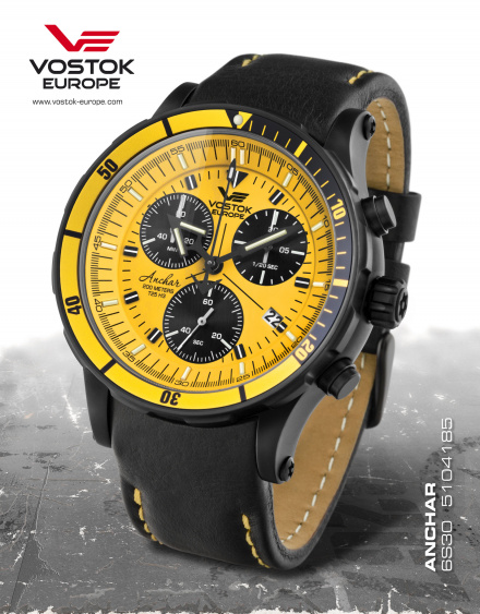 Zegarek Męski Vostok Europe Anchar 6S30/5104185 Chrono Line