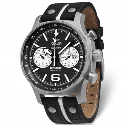 Zegarek Męski Vostok Europe Expedition 6S21/5955199 Chrono Line
