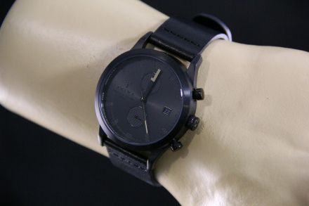 Zegarek LCST105.CS010113 - TRIWA LCST105 Sort of Black Chrono