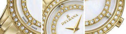 Delbana 427116091510 - Zegarek Szwajcarski Delbana 42711.609.1.510