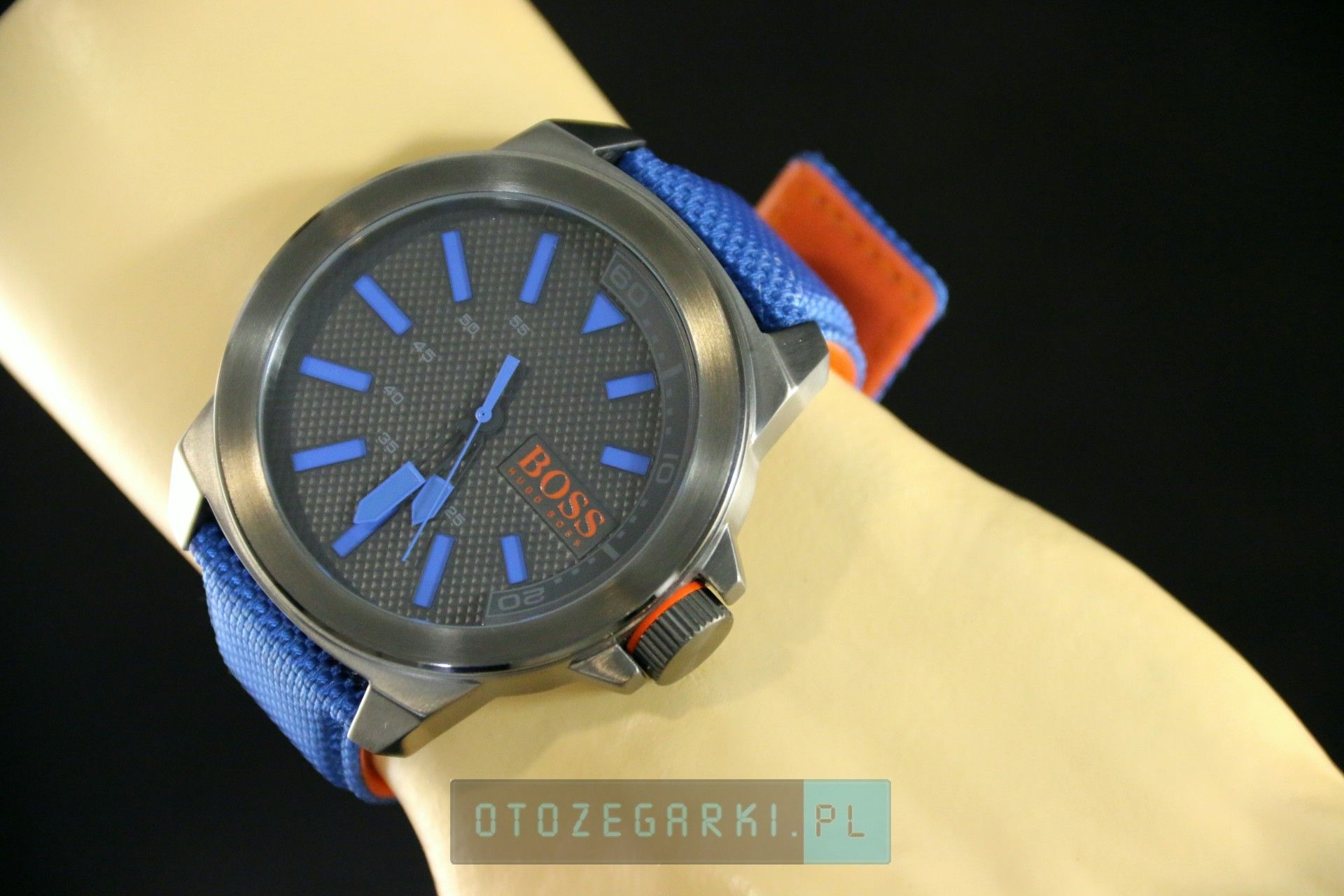 b080e9c434f0f Hugo Boss 1513008 - Zegarek Męski Hugo Boss Orange New York - 534,00 ...