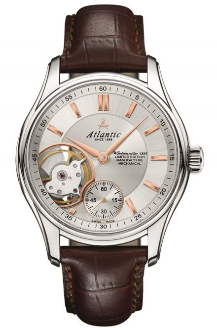 Zegarek Atlantic Limited Mechanical 1888 Lusso 52951.41.21R