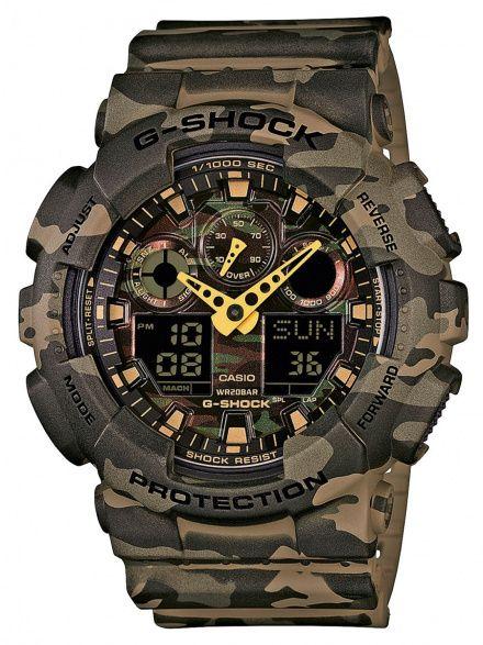 Zegarek Casio GA-100CM-5AER G-Shock GA-100CM -5AER