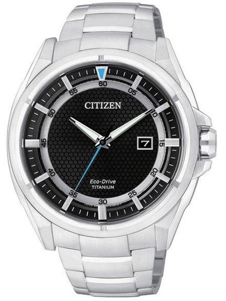 Citizen AW1400-52E Zegarek Męski Titanium AW1400 52E