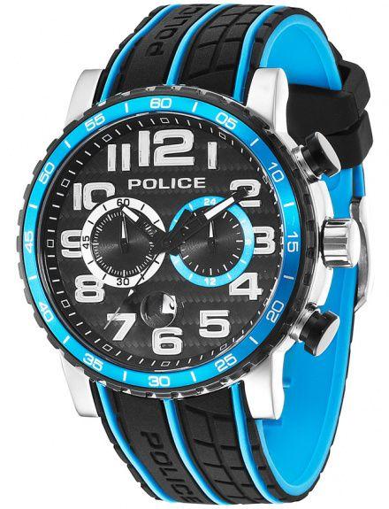 Police 14443JSTB/02P POWERSLIDE Zegarek Model PL14443