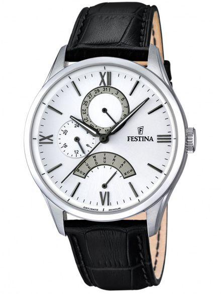 Zegarek Męski Festina F16823/1 Classic Retro 16823/1