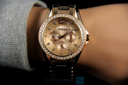 Fossil ES2811 Riley - Zegarek Damski