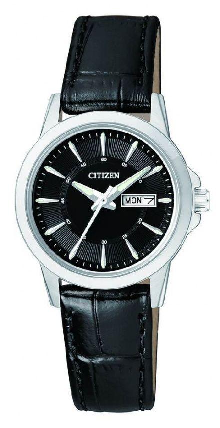 Citizen EQ0601-03EE Zegarek Damski na pasku Citizen Classic