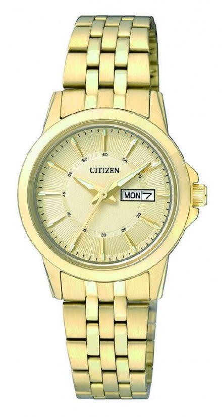Citizen EQ0603-59PE Zegarek Damski na bransolecie Citizen Classic