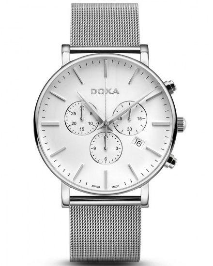Zegarek Szwajcarski Doxa D-Light Chrono 172.10.011.10