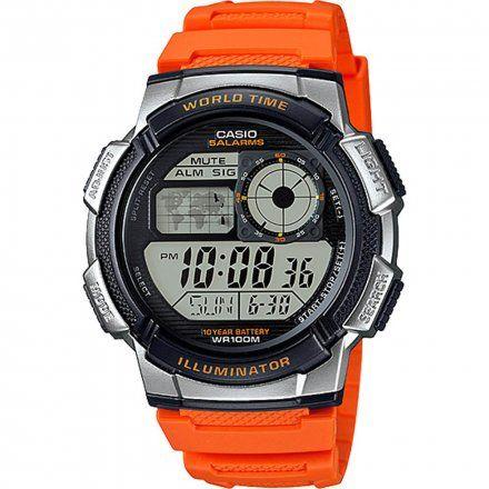 Zegarek Męski Casio AE-1000W-4BVEF Casio Sport AE-1000W -4BVEF
