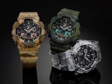 Zegarek Casio GA-100MM-5AER G-Shock GA-100MM -5AER