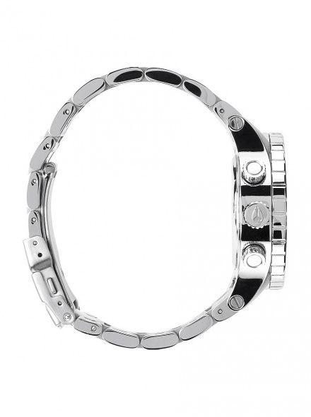 Zegarek Nixon 38-20 Chrono All Silver Crystal - Nixon A4041874