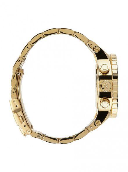 Zegarek Nixon 38-20 Chrono All Gold Crystal - Nixon A4041520