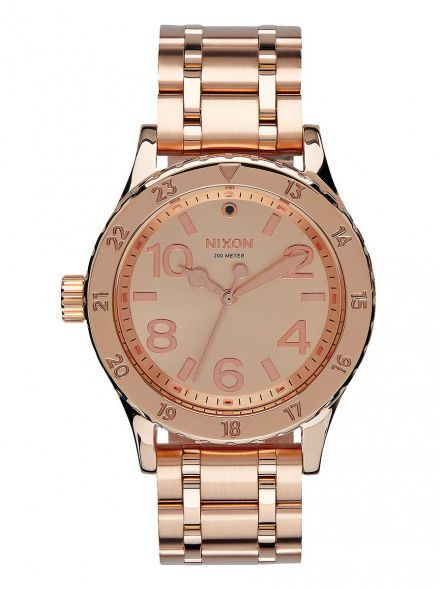Zegarek Nixon 38-20 All Rose Gold - Nixon A4101897