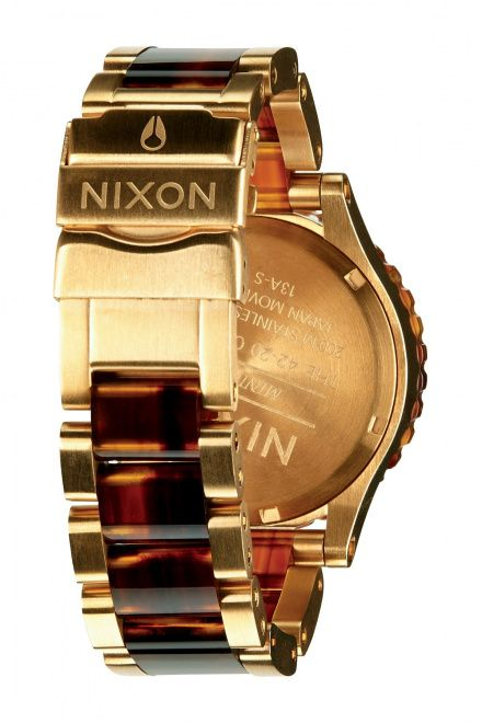 Zegarek Nixon 42-20 Chrono Gold Molasses - Nixon A0371424