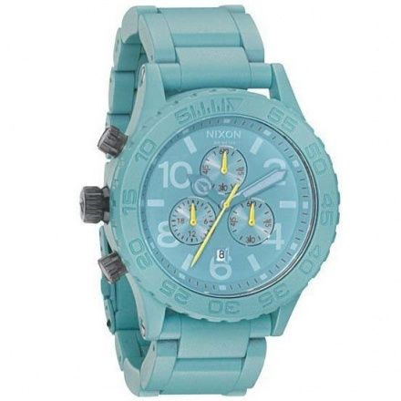 Zegarek Nixon 42-20 Chrono Seafoam - Nixon A0371272