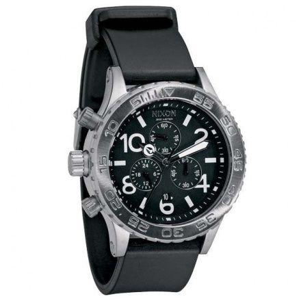 Zegarek Nixon 42-20 Pu Black - Nixon A0361000