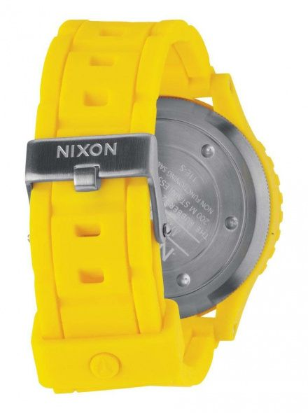 Zegarek Nixon Rubber 42-20 Chrono Yellow - Nixon A3091250