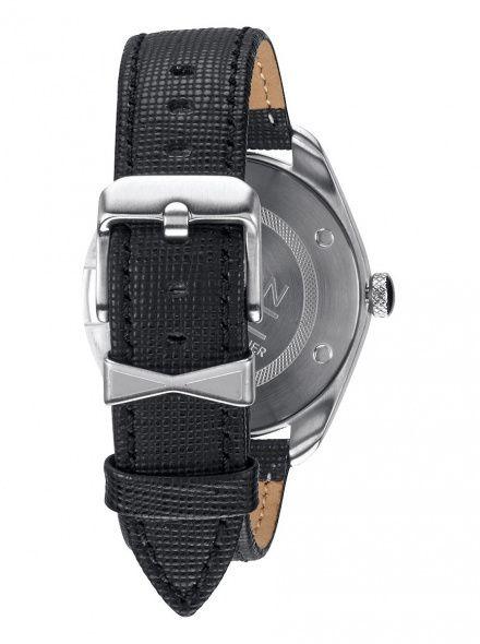 Zegarek Nixon Bullet Leather Black - Nixon A4731000
