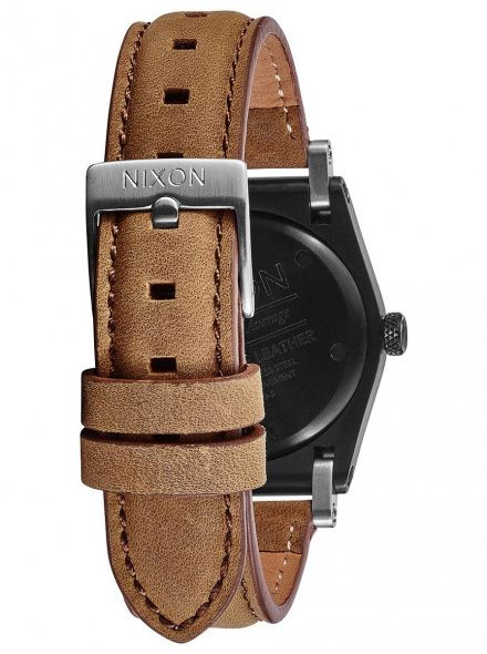 Zegarek Nixon Jane Leather Black Saddle - Nixon A9551037