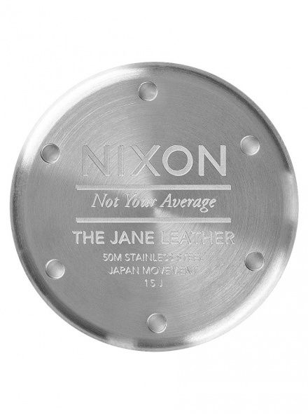 Zegarek Nixon Jane Leather Silver Surplus - Nixon A9552232