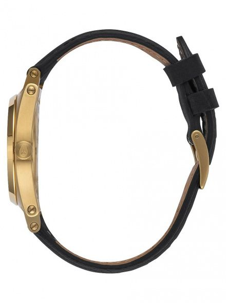 Zegarek Nixon Jane Leather Gold Black - Nixon A9551513