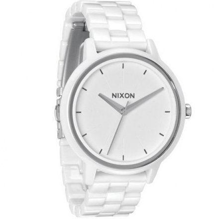 Zegarek Nixon Ceramic Kensington White - Nixon A2611100