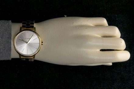 Zegarek Nixon Kensington Gold White - Nixon A0991508