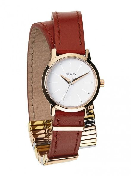 Zegarek Nixon Kenzi Wrap Rose Gold Mixed - Nixon A4031749