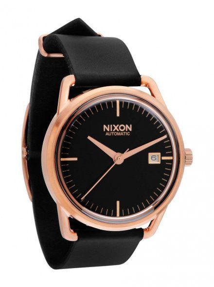 Zegarek Nixon Mellor Automatic Rose Gold Black - Nixon A1992098
