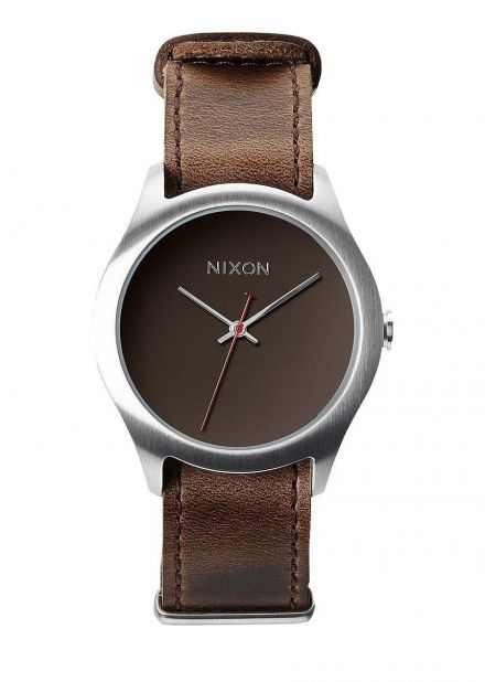 Zegarek Nixon Mod Leather Brown - Nixon A4281400