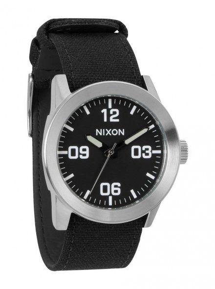 Zegarek Nixon Private Black - Nixon A0491000