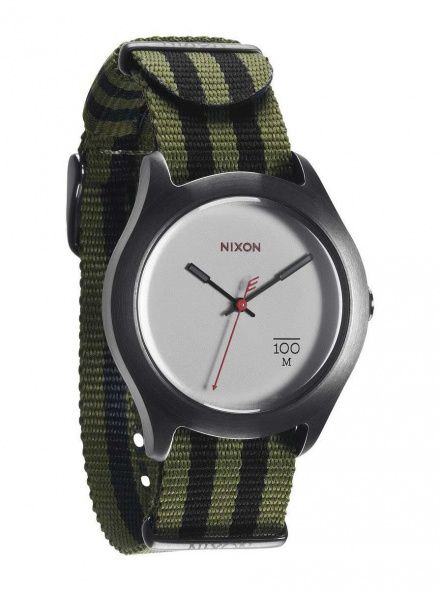 Zegarek Nixon Quad Surplus Black Nylon - Nixon A3442151