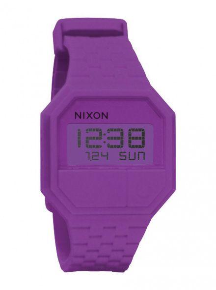 Zegarek Nixon Rubber Re-Run Rhodo - Nixon A1691698