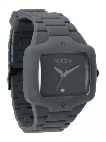 Zegarek Nixon Rubber Player Gray Black - Nixon A1391195