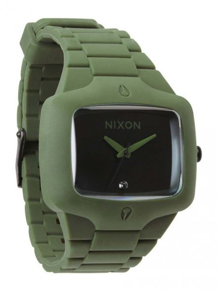Zegarek Nixon Rubber Player Matte Black Surplus - Nixon A1392042