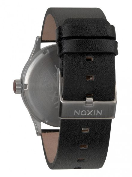 Zegarek Nixon Sentry Leather Black - Nixon A1051000