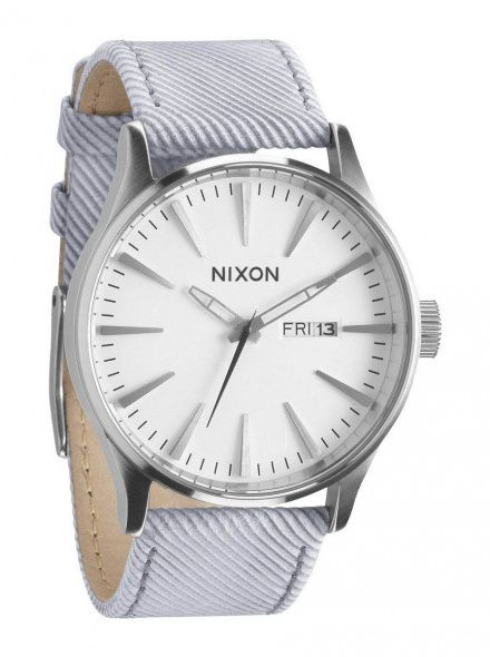 Zegarek Nixon Sentry Leather Pinstripe - Nixon A1051850