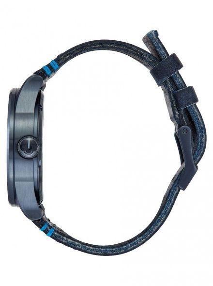 Zegarek Nixon Sentry Leather All Dark Blue - Nixon A1052224