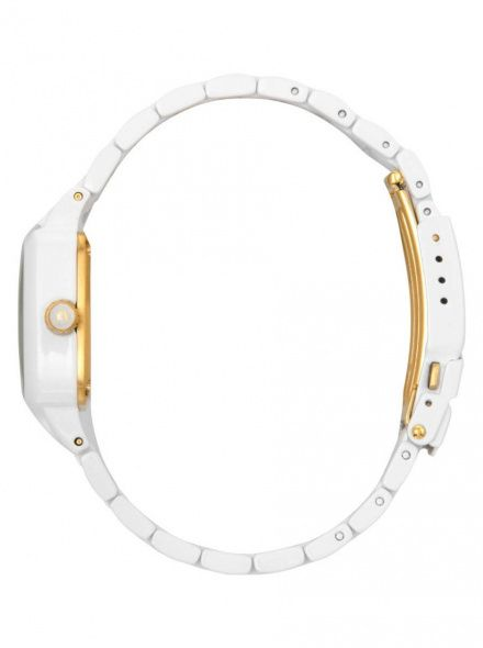 Zegarek Nixon Small Player All White Gold - Nixon A3002035