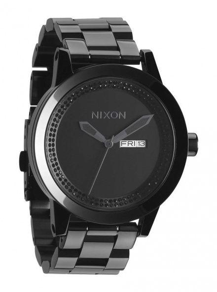 Zegarek Nixon Spur All Black Black Crystal - Nixon A2632150